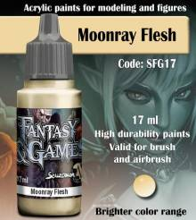 Fantasy and Games- Moonray Flesh Paint 17ml