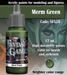Fantasy and Games- Merm Green Paint 17ml
