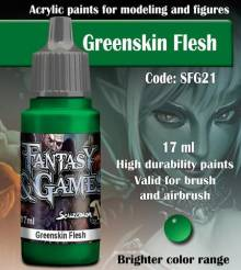 Fantasy and Games- Greenskin Flesh Paint 17ml