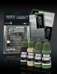 Scale Color Warfront Paint Sets: Feldgrau Set