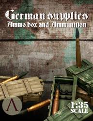 German Supplies: Fuel Drums and Jerrycans