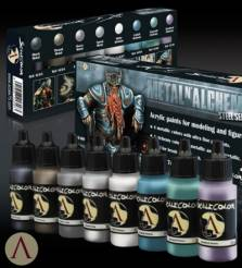 Scale Color- Metal N Alchemy Steel Series Paint Set