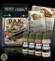 Scale Color Warfront Paint Sets: D.A.K. Colors for AFV