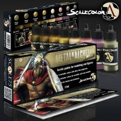 Scale Color- Metal N Alchemy Gold Paint Set
