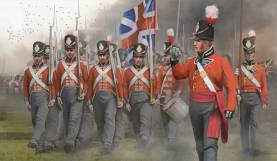 Napoleonic British Infantry on the March