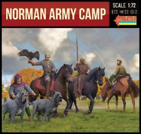 Strelets Big Box- Norman Army Camp