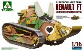 WWI Fench Renault FT-17 w/Girod Turret & 37mm Gun