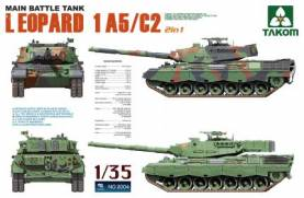 Leopard 1 A5/C2 Main Battle Tank (2 in 1)
