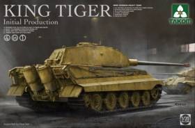 WWII German King Tiger Initial Production Heavy Tank
