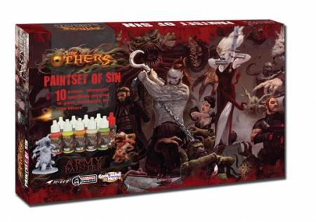 Army Painter: Warpaints: The Others: Paint Set Of Sin