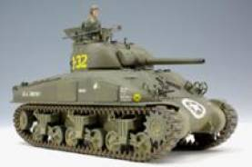 Sherman M4A1 Late Version w/Hedgerow Cutter