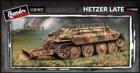 WWII German Bergepanzer 38 Hetzer Late Recovery Vehicle