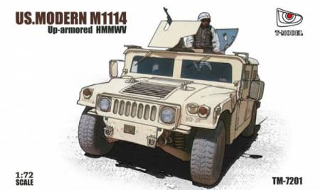US Modern M1114 Up-Armor HMMWV Truck