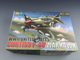 Cute Series: USAAF Curtis P-40 Fighter Kit