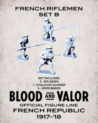 Blood and Valor - French Army Riflement Set B