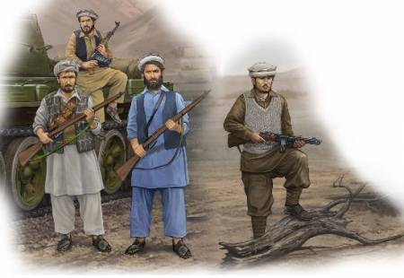 Afghan Rebels Figure Set (4)