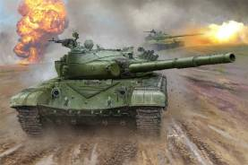 Russian T72B Mod 1985 Main Battle Tank
