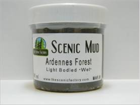 Scenic Mud 90 ml - Ardennes Forest Light Bodied, Wet