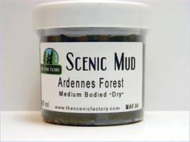 Scenic Mud 90 ml - Ardennes Forest Medium Bodied, Dry