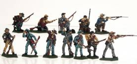 Confederate Infantry Firing Set 1
