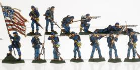 Federal (Union) Infantry Set 2