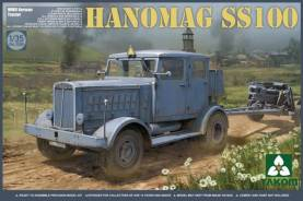 German WWII Hannomag SS100 Tractor