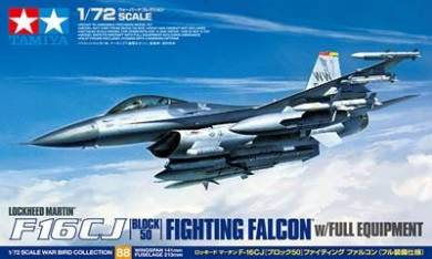 F16CJ Block 50 Fighting Falcon Aircraft w/Full Equipment