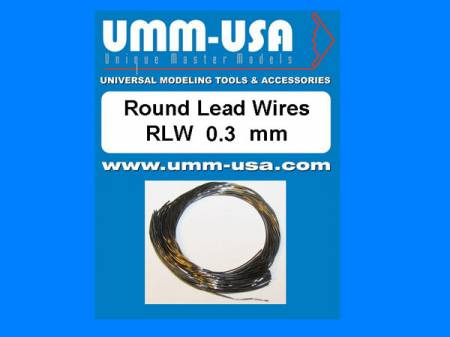Round Lead Wires 0.3mm