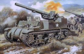 M12 155mm Us Self-Propelled Gun