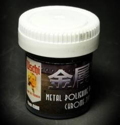 Uschi van der Rosten Metal Polishing Powder Chrome 25ml