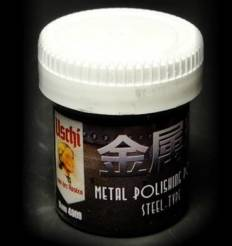 Uschi van der Rosten Metal Polishing Powder Steel 25ml