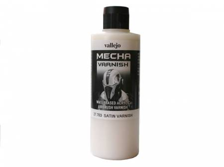 Mecha Color Satin Varnish 200ml Bottle