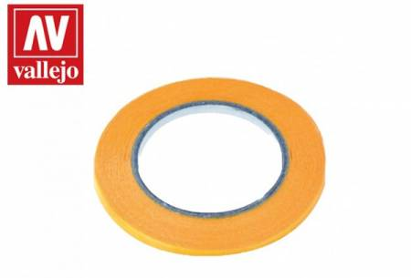 Precision Masking Tape 2mmx18m Twin Pack