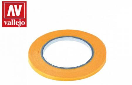 Precision Masking Tape 3mmx18m Twin Pack