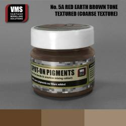 Spot-On Pigment- Red Earth Brown Tone Coarse Texture Pigment