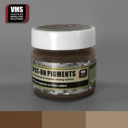 Spot-On Pigment- Red Earth Brown Tone Pure Pigment