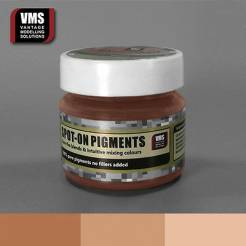 Spot-On Pigment- Red Earth Pink Tone Pure Pigment