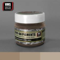 Spot-On Pigment- Red Earth Washed Brown Tone Pure Pigment