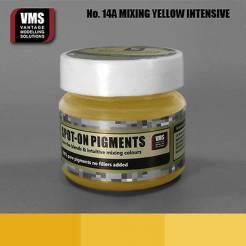 Spot-On Pigment Mixing Yellow Intensive Pure Pigment