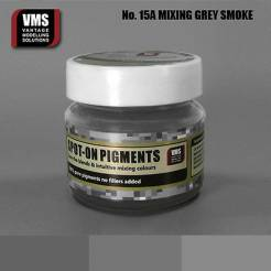 Spot-On Pigment- Mixing Grey Intensive Smoke Pure Pigment