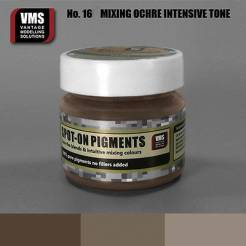 Spot-On Pigment- Mixing Ochres Intensive Pure Pigment