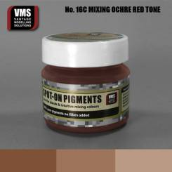 Spot-On Pigment- Mixing Ochres Red Pure Pigment