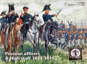 Napoleonic Prussian Officers & High Staff 1813-1815