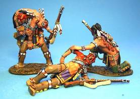 WOODLAND INDIANS WOUNDED #WIM-06 - 1 AVAILABLE OOP