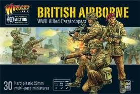 WWII British Airborne Paratroopers