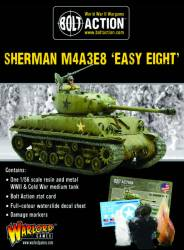 Korean War - Sherman M4A3E8 Easy Eight