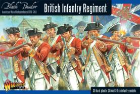 British Infantry Regiment 1776-1783