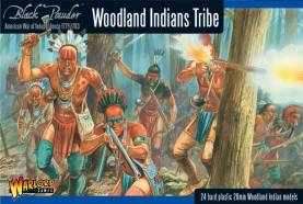 Woodland Indians Tribe 1776-1783
