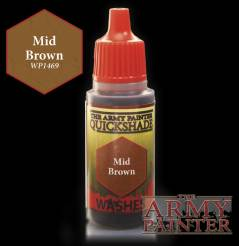 Army Painter: Warpaints Mid Brown Wash