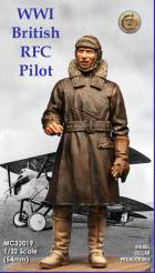 WWI British RFC Pilot